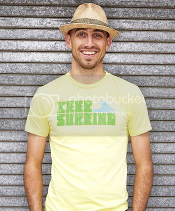 Keep Surfing T-Shirt for Men